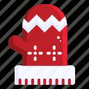 gloves, ornament, fashion, christmas, xmas