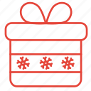 box, christmas, gift, present, winter