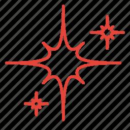 blink, light, night, sky, star icon