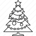 christmas, tree, decoration, celebration, ornaments