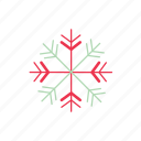 chirstmas, cold, frozen, snow, snowflake, winter icon