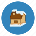 celebration, christmas, decoration, holiday, party, snow house icon