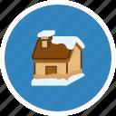 celebration, christmas, decoration, holiday, party, snow house icon