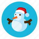 celebration, christmas, santa, snow, tree icon