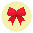 bow, box, celebration, christmas, gift, snow, snowflake icon