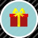 award, christmas, gift box, prize, winner icon