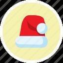 celebration, christmas, cloud, cái mũ, snow, weather, winter icon