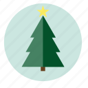 celebration, christmas, decoration, pine, santa, xmas icon