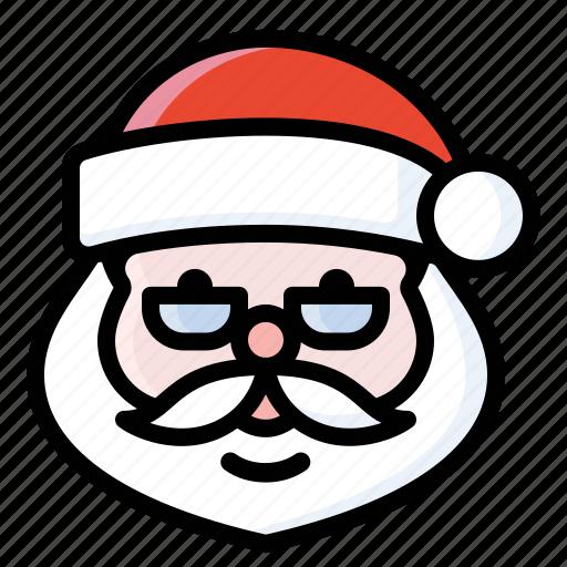 christmas, claus, nick, saint, santa icon