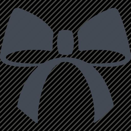 bow, christmas, decoration, festive decoration icon