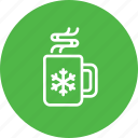 chocolate, christmas, cup, drink, hot, mug, xmas icon