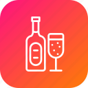 alcohol, beverage, celebration, drink, party, wine, xmas icon
