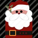 christmas, gift, santa icon