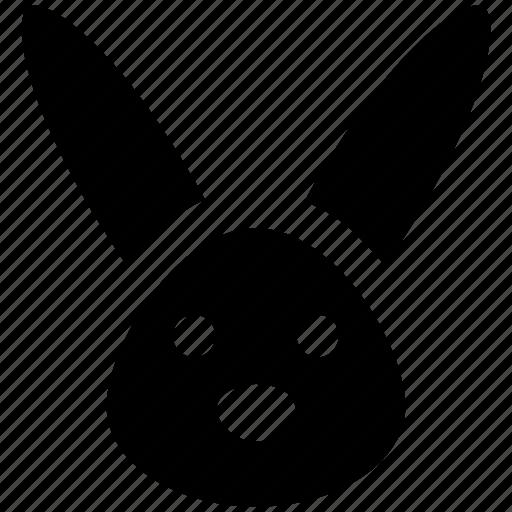 animal, bunny, bunny face, christmas, hare, rabbit face icon