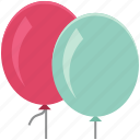 balloons, birthday balloons, decorations, party balloon, party decorations