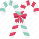 candy cane, candy stick, christmas sweets, peppermint candy, sweet icon