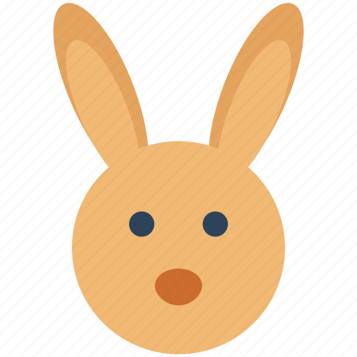 animal, bunny, bunny face, easter bunny, rabbit face icon