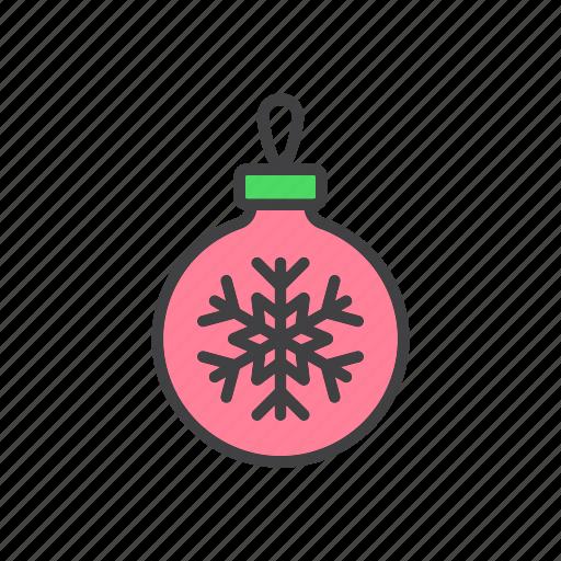 ball, christmas, tree icon