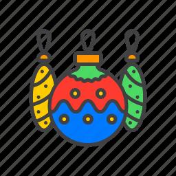 ball, christmas, decoration, tree icon