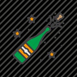 celebration, champagne, pop icon