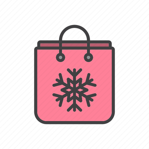 bag, christmas, shopping icon