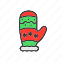 glove, mitten, winter icon