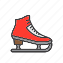 figure, ice, skate, skating icon