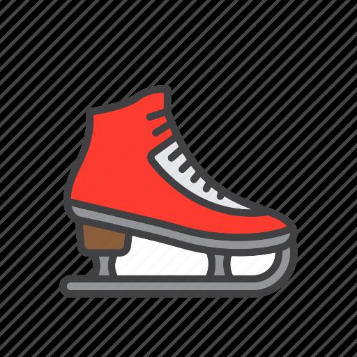 figure, ice, skate, skating icon