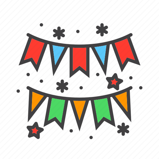 Festival, garland, paper icon - Download on Iconfinder