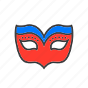 mask, masquerade icon