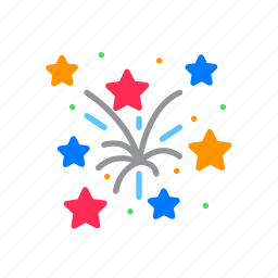 explosion, festival, fireworks icon
