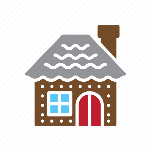 christmas, gingerbread, home, house icon