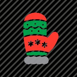 glove, mitten, winter icon