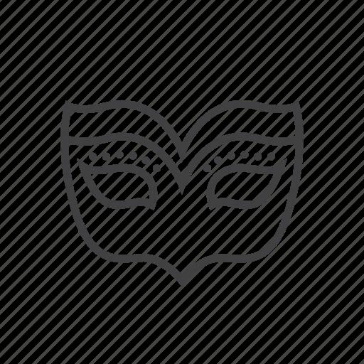 ball, mask, masquerade icon