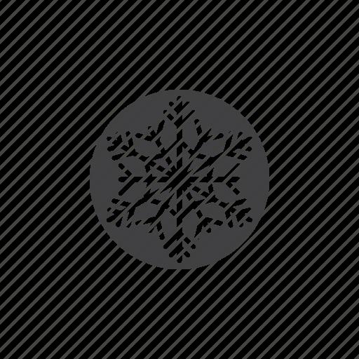 cold, snow, snowflake icon