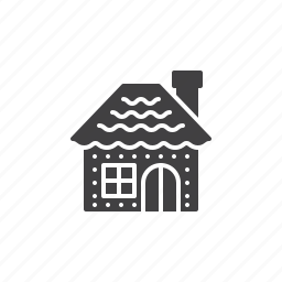 gingerbread, home, house icon
