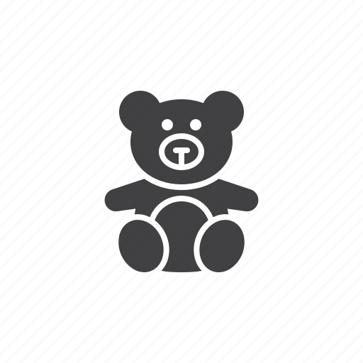 Bear, stuffed, teddy, toy icon - Download on Iconfinder
