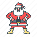 christmas, claus, santa, santa claus icon
