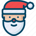 christmas, claus, man, new year, santa, winter, xmas icon