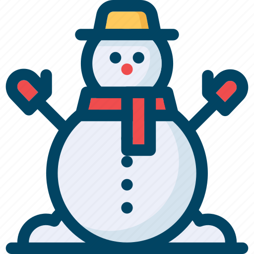 christmas, man, new year, snow, snowman, xmas icon