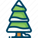 christmas, forest, new year, snow, tree, winter, xmas