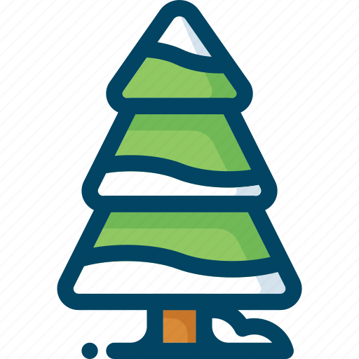 christmas, forest, new year, snow, tree, winter, xmas icon