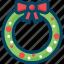 christmas, decoration, new year, wreath, xmas