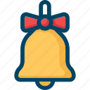 bell, christmas, music, new year, xmas icon