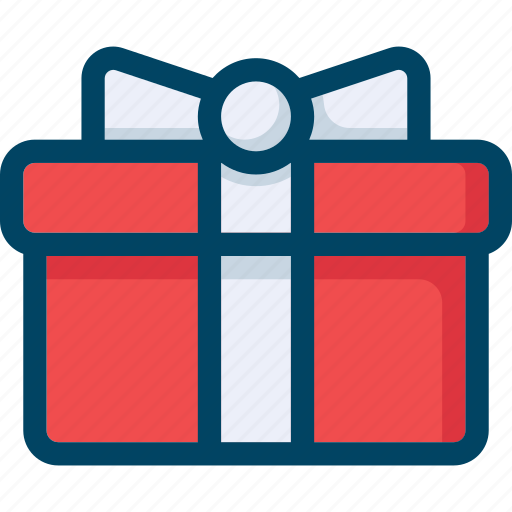 box, christmas, gift, new year, present, xmas icon
