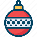 ball, christmas, decoration, globe, new year, xmas icon