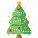 christmas, new year, pine, decoration, xmas, tree, forest