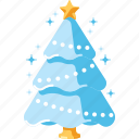 christmas, decoration, forest, pine, snow, tree, xmas icon