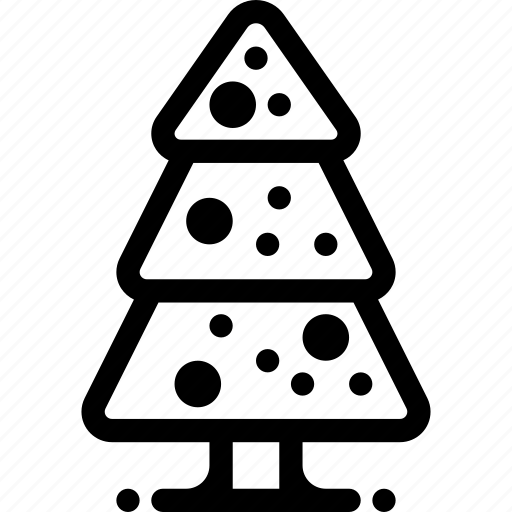 christmas, decoration, new year, tree, winter, xmas icon