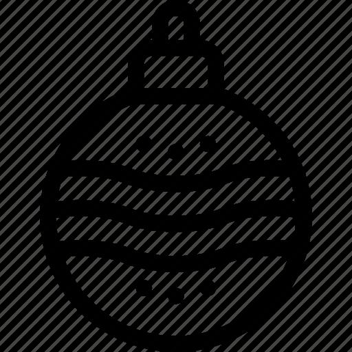 ball, christmas, decoration, globe, xmas icon